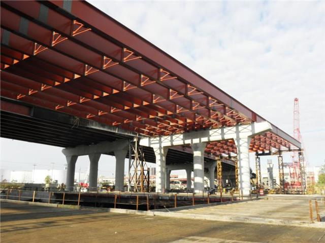 New structural steel for the I-95 SB Q-Bridge West Approach Structure